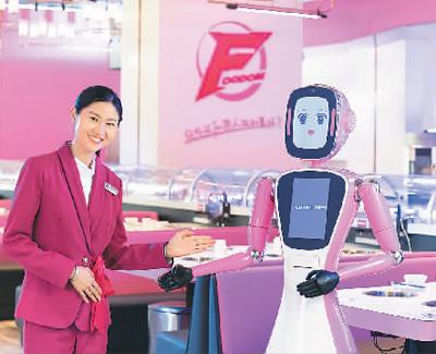 餐饮进入科技化时代,无需服务员送餐,机器人完全可以胜任!