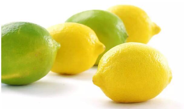 青柠檬和黄柠檬,可不只是颜色不一样哦