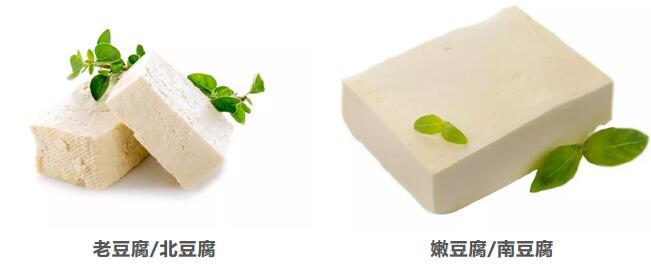 都是豆腐,老豆腐和嫩豆腐营养可不一样哦