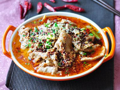 麻辣水煮牛肉是属于四川的精彩哦!