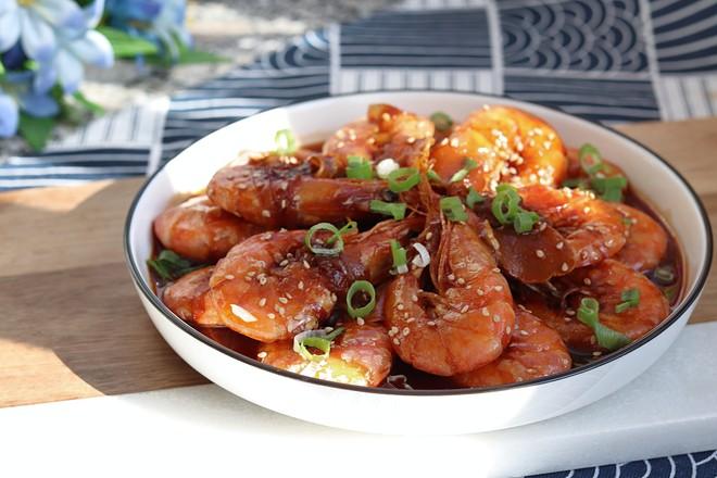 油爆大虾的简单做法,大菜小做很好学的哦!